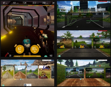 Interactive Fitness Screenshot